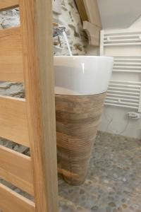 Vasque en bois