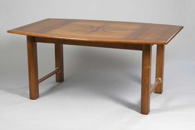 table marine en merisier